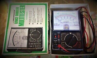 Vintage Micronta Range Doubler Multitester