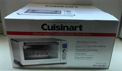 Cuisinart TOB-135WN Toaster Oven Broiler Deluxe White Convec