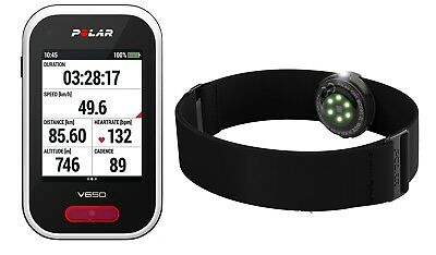 competitive price 34389 84222 Polar V650 GPS Enabled Cycling Computer with OH1 Heart Rate Monitor Bundle