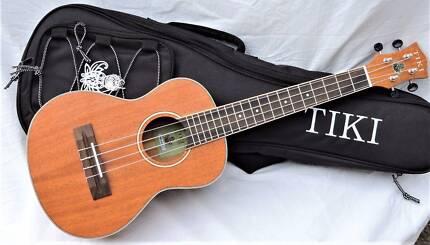 Tiki TMT-5-NST - Solid Top Tenor Uke