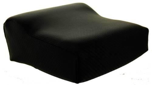 Black Contour Tanning Bed Pillow W/Carbon Fiber Look. Compact Comfortable Size