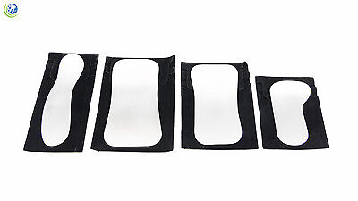4set Orthodontic Intra-oral Dental Clinic Stainless Steel Photography Mirrors