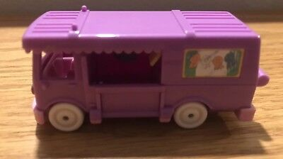 Vintage 1994 Bluebird Toy POLLY POCKET Stable On The Go-Out 'N About, Purple -
