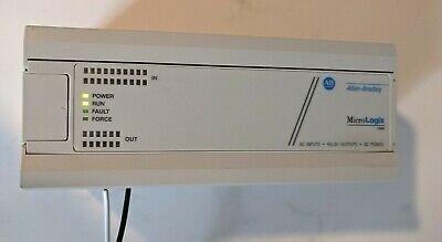 Allen Bradley 1761-l32awa Ser E Frn 1.0 Micrologix 1000 Controller. Tested.