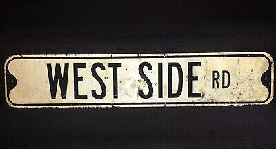 West Side Road Street Sign Westside High School Chicago LA NY Coast Rap Hip Hop