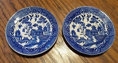 Vintage Dutch Delft white blue flowers decorated ashtray with some damage circa 1970-80/'s  English Shop