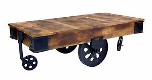 Industrial Cart Coffee Table Adelaide CBD Adelaide City Preview