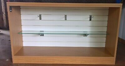 Small Retail Display Slatwall Fixture W Extras Custom Made By Pin