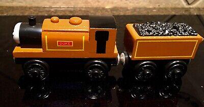 Thomas & Friends Wooden Railway Duke w/ Coal Car Tender Train