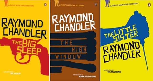 Raymond Chandler, The Big Sleep, High Window, Little Sister, 3 Book Set, New