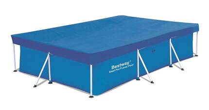 Swimming Pool Cover 304x205cm For BESTWAY Frame Rectangular pool