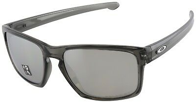 Oakley Sliver Sunglasses OO9262-13 Grey Smoke | Chrome Iridium Polarized Lenses