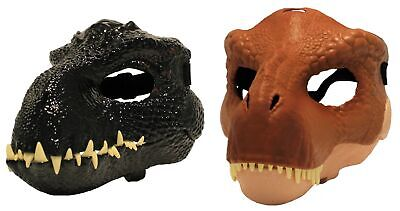 Mattel Jurassic World Dino mask for children and adults, size adjustable, NEW