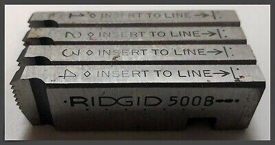 Ridgid 48465 Bolt Dies For Machine Die Heads - 38-16 Unc - Rh - Alloy Steel