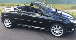 2005 Peugeot 206 Convertible rego+Rwc Coolaroo Hume Area Preview