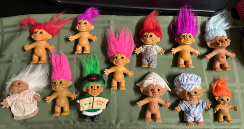 Vintage Troll Bundle. Mixed