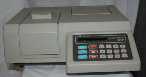 Milton Roy Spectronic 601 Spectrophotometer with 30 GUARANTEE