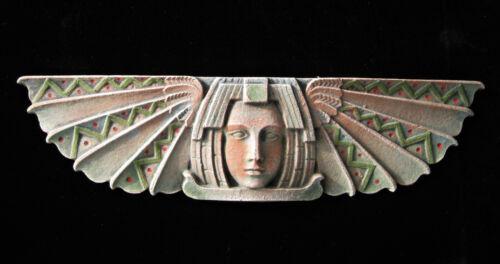 EGYPTIAN FOSSIL  ART DECO ARTS AND CRAFTS ELLISON TILE