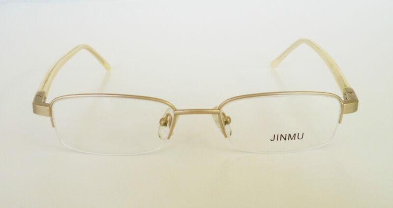 50-18-135 Half Rim Eye Glasses Prescription Frame Unisex 4 Colors Retail $140+++
