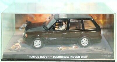 JAMES BOND 007 COLLECTION TOMORROW NEVER DIES RANGE ROVER 1/43 IN CASE