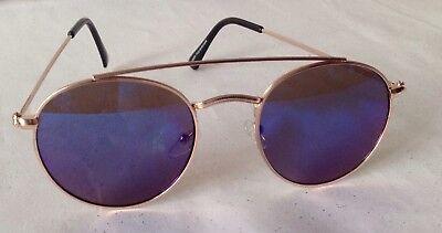 Солнцезащитные очки New Unisex Gold Metal