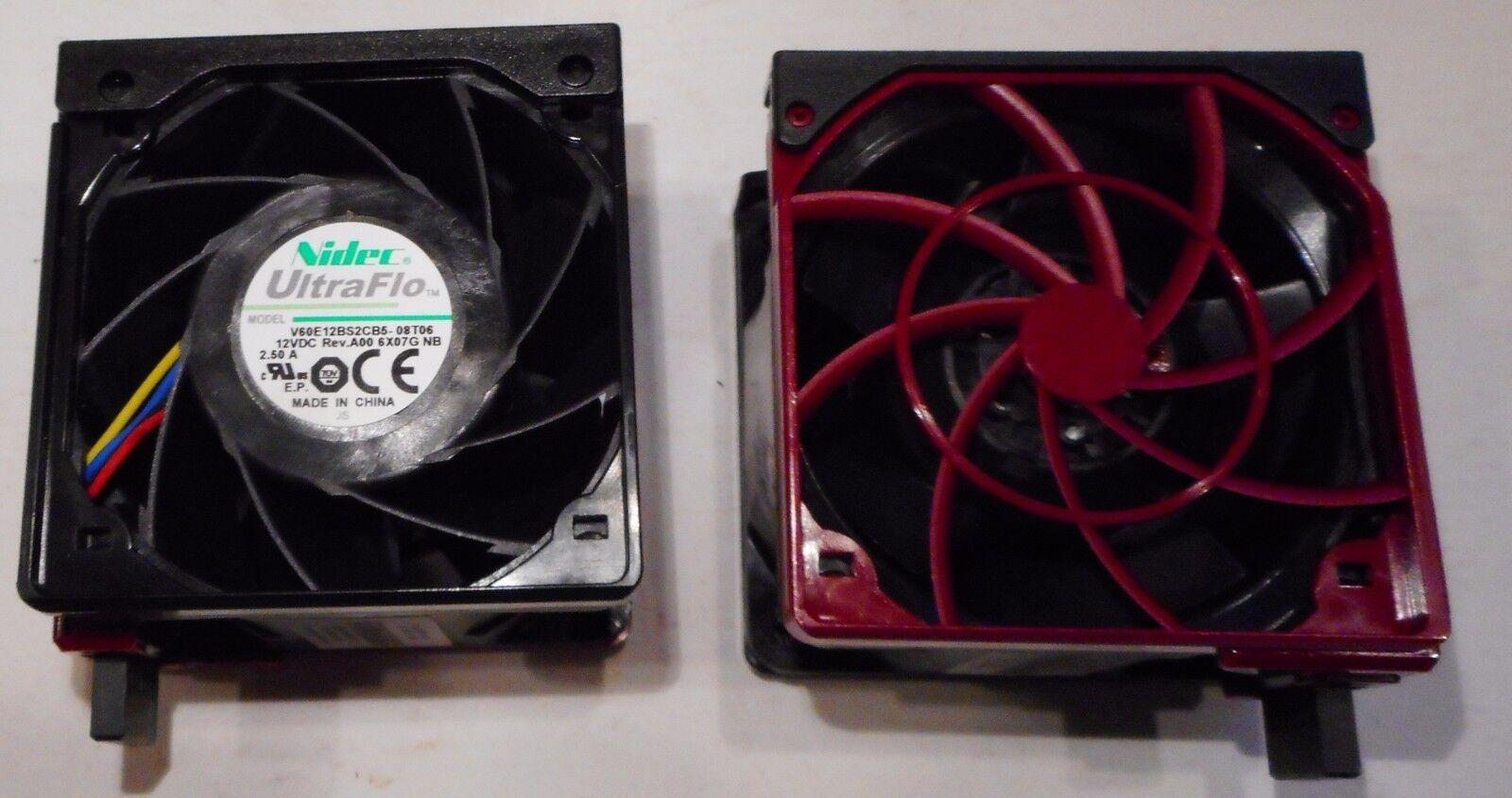 LOT OF 10 NIDEC ULTRA FLO COOLING FANS V60E 12BS2CB5 12 VDC H P/N 747597-001