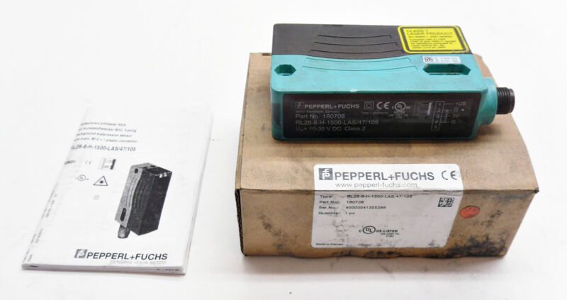 PEPPERL+FUCHS RL28-8-H-1500-LAS/47/105 SUPPRESSION SENSOR