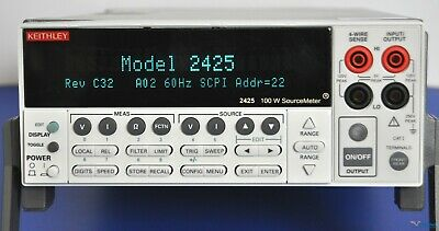 Keithley 2425 100w Sourcemeter Smu Source Meter - Nist Calibrated And Warranty