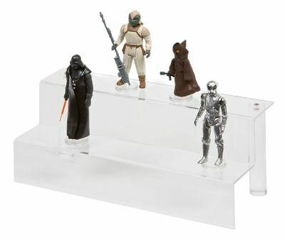 GW Acrylic 2 Tier Display Steps / Riser (ADS-001) - Action Star Wars / GI Joe