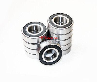6205-2rs Premium Sealed Ball Bearing 25x52x15mm Qty 10