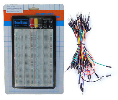 Tektrum Solderless 1660 Tie-points Experiment Plug-in Breadboard Kit With Wires