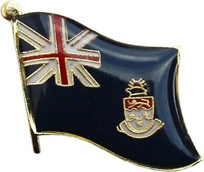 Wholesale Pack of 50 Cayman Islands Country Flag Bike Hat Cap lapel Pin