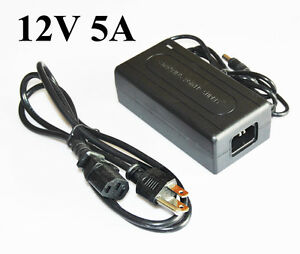 1A 2A 3A 4A 5A AC 110V / 220V to DC 12V LED Transformer Power Supply Adapter