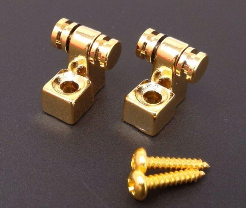 True Custom Shop® GOLD Modern Roller String Tree Guides for Fender Tele & Strat
