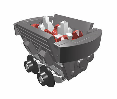 Constructibles Mine Cart   Lego  Parts   Instructions Kit