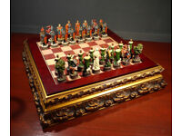 The Robin Hood Themed Chess Set