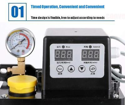 New 2l 110v Electric Dual Digital Display Automatic Lubrication Oil Cnc Pump Usa