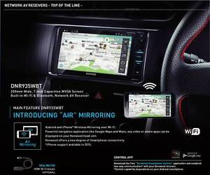 """Kenwood DNR935WBT 7"""" WI-FI BLUETOOTH TOYOTA DIRECT SIZE 200MM Glynde Norwood Area Preview"""