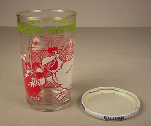 1974 Warner Bros.Drinking Glass Foghorn Leghorn Looney Tunes WB Henery Hawk