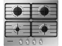 Samsung Stainless Steel Brand New Gas Hob - Still in the original unopened box