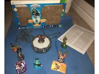 Sky Landers Starter Pack For XBox 360 Included 6 Figures