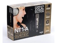 Rode NT1-A microphone package