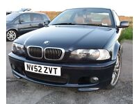 BMW 330 Ci Coupe Sport - Orient Blue - Manual - FSH - Leather - e46 -