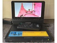 "Sony DVP-FX810 8"" Portable DVD Player DIVX MP3 MPEG4 8 inch Widescreen LCD Monitor"