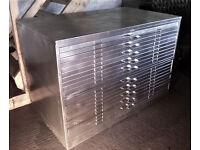 Plans chest...Art / Design / Photography / Collectibles etc