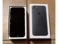 Apple iPhone 7 - 32GB - Black (Unlocked) Smartphone - NEW Accessories