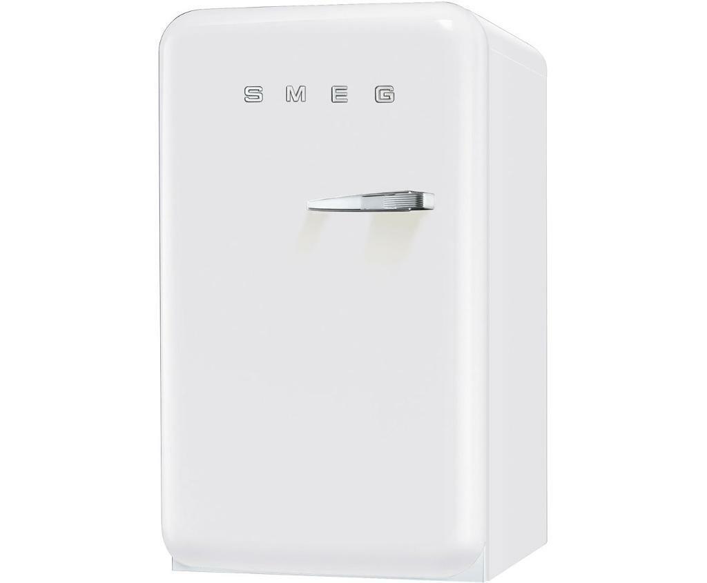 White Smeg Home Bar Style Fridge Freezer