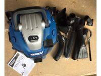 DraperWall Mountable Wet and Dry Vacuum Cleaner 1500w