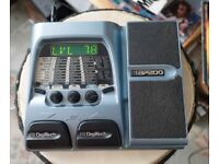 Digitech BP200 Multi Effects/FX, Amp Modeler and Pedal – with Power supply