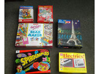 A variety of childrens games/ puzzles